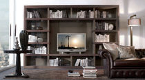contemporary TV wall unit MODULA GALIMBERTI NINO