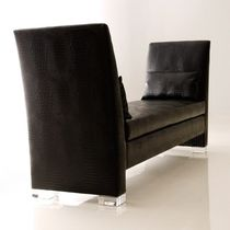 contemporary upholstered bench CADEN Haziza