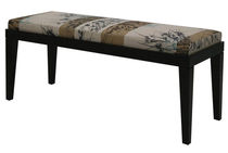 contemporary upholstered bench MOON INTERIOR BELTRAMINI