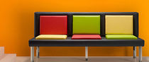 contemporary upholstered bench TIENDA TAPIZADOS CONFORTEXT