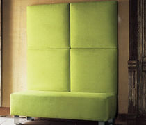 contemporary upholstered bench PANKA BLOCK by Bruno Rainaldi Mussi Italy