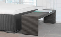 contemporary upholstered bench BRIDGE Accente