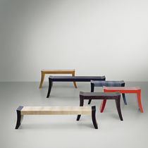 contemporary upholstered bench SAPHIRE PROMEMORIA