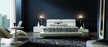 contemporary upholstered double bed SHANGAI Gamamobel