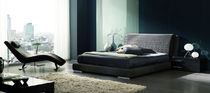contemporary upholstered double bed DUBAI Gamamobel