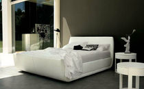 contemporary upholstered double bed DOD&Ograve; CACCARO