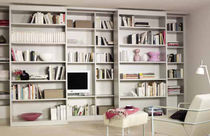 contemporary wall bookcase RIMA Raumplus