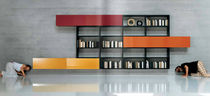 contemporary wall bookcase 30MM LAGO