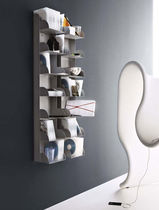 contemporary wall bookcase CERANO by Enzo Mari Robots