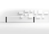 contemporary wall bookcase VISION by  Karel Boonzaaijer &amp; Pierre Mazairac  pastoe