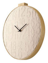 contemporary wall clock STITCH by Alan Wisniewski Umbra