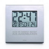 contemporary wall clock EON keilbach design and products