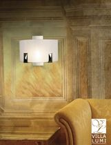 contemporary wall light (brass) BRESCIA Villa Lumi