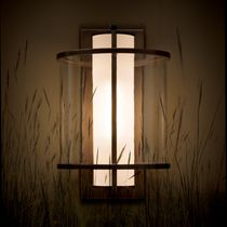 contemporary wall light (copper, handmade) KLOS Kevin Reilly  Lighting