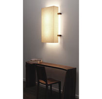 contemporary wall light (linen) LINEN SCONCE Hudson Furniture