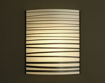 contemporary wall light (wood) CHARCOAL STRIP SCONCE Hudson Furniture