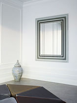 contemporary wall mirror ILLUSION by Ann Grymonpon Reflect +