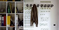 contemporary wall mounted coat-rack HOO by Pastorino & Suarez CASAMANIA