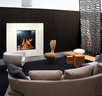 contemporary wall-mounted fireplace (bioethanol open hearth) GRANDE OPERA  direct cheminée
