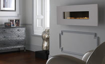 contemporary wall-mounted fireplace (gas closed hearth, vent-free) GRAND LIMESTONE Superior Fires