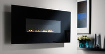 contemporary wall-mounted fireplace (gas closed hearth, vent-free) BELLEVUE Superior Fires