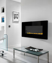 contemporary wall-mounted fireplace (gas closed hearth, vent-free) SORRISO Superior Fires