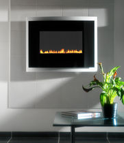 contemporary wall-mounted fireplace (gas closed hearth, vent-free) CORINTHIA  Superior Fires