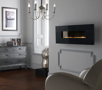 contemporary wall-mounted fireplace (gas closed hearth, vent-free) GRAND GRANITE Superior Fires