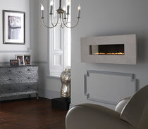 contemporary wall-mounted fireplace (gas closed hearth, vent-free) GRAND FONTAINEBLEAU Superior Fires
