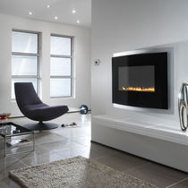 contemporary wall-mounted fireplace (gas closed hearth, vent-free) RADIUM Chesney