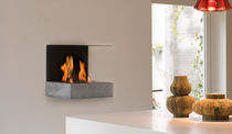 contemporary wall-mounted fireplace (bioethanol open hearth) S-FIRE 30 by Richard Schipper TULP firemakers
