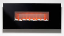 contemporary wall-mounted fireplace (electric closed hearth) MIRAMBEAU Superior Fires