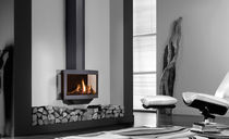 contemporary wall-mounted gas stove STEALTH Wanders