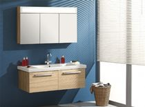 contemporary wall-mounted washbasin cabinet SELEND&amp;#x00130; ORKA