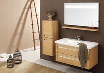 contemporary wall-mounted washbasin cabinet KOZAN  ORKA