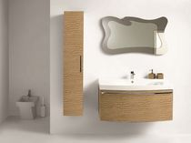 contemporary wall-mounted washbasin cabinet MIX LUXURY COMP.101  SOLMET