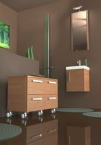 contemporary wall-mounted washbasin cabinet TITTRE' KENYA COMP. 04 Gruppo Tarrini