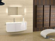 contemporary wall-mounted washbasin cabinet BALDINI ACQUA LUX COMP. 04 Gruppo Tarrini
