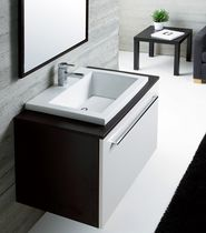 contemporary wall-mounted washbasin cabinet DANUBIO  Cosmogres