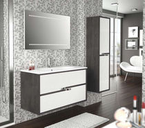 contemporary wall-mounted washbasin cabinet ARGOS Salgar