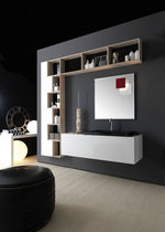 contemporary wall-mounted washbasin cabinet ALPHA karol