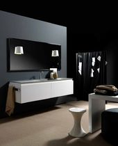 contemporary wall-mounted washbasin cabinet ALPHA 1  karol