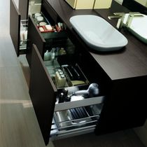 contemporary wall-mounted washbasin cabinet URBAN CHIC karol