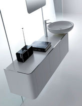 contemporary wall-mounted washbasin cabinet K08 by Giancarlo Vegni karol