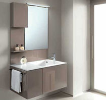 contemporary wall-mounted washbasin cabinet FLEXIA 4  Geromin