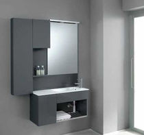 contemporary wall-mounted washbasin cabinet FLEXIA 5 Geromin