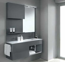 contemporary wall-mounted washbasin cabinet FLEXIA 8 Geromin