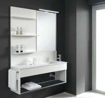 contemporary wall-mounted washbasin cabinet FLEXIA 9  Geromin