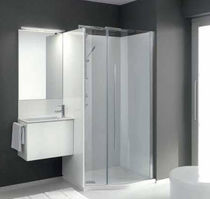 contemporary wall-mounted washbasin cabinet FLEXIA 10  Geromin