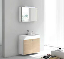 contemporary wall-mounted washbasin cabinet RIKO 5  Geromin